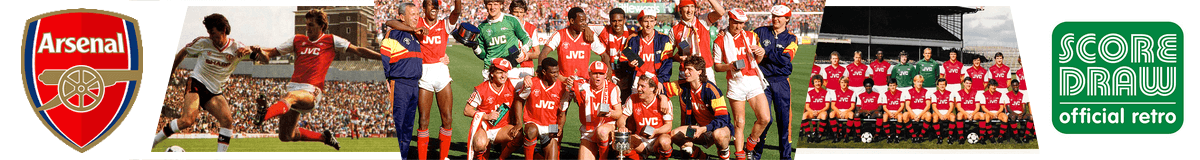 Arsenal FC Retro Shirts