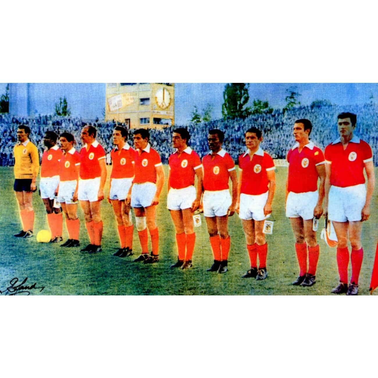 reputable site f415a 3672b SL Benfica 1960/61 retro shirt | Retrofootball®