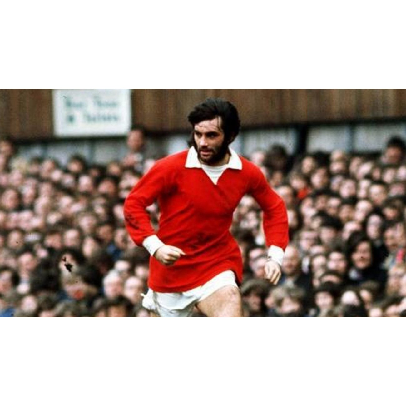 buy online 1efe1 1b2d3 Manchester United, legend George Best, 1970's | Retrofootball®