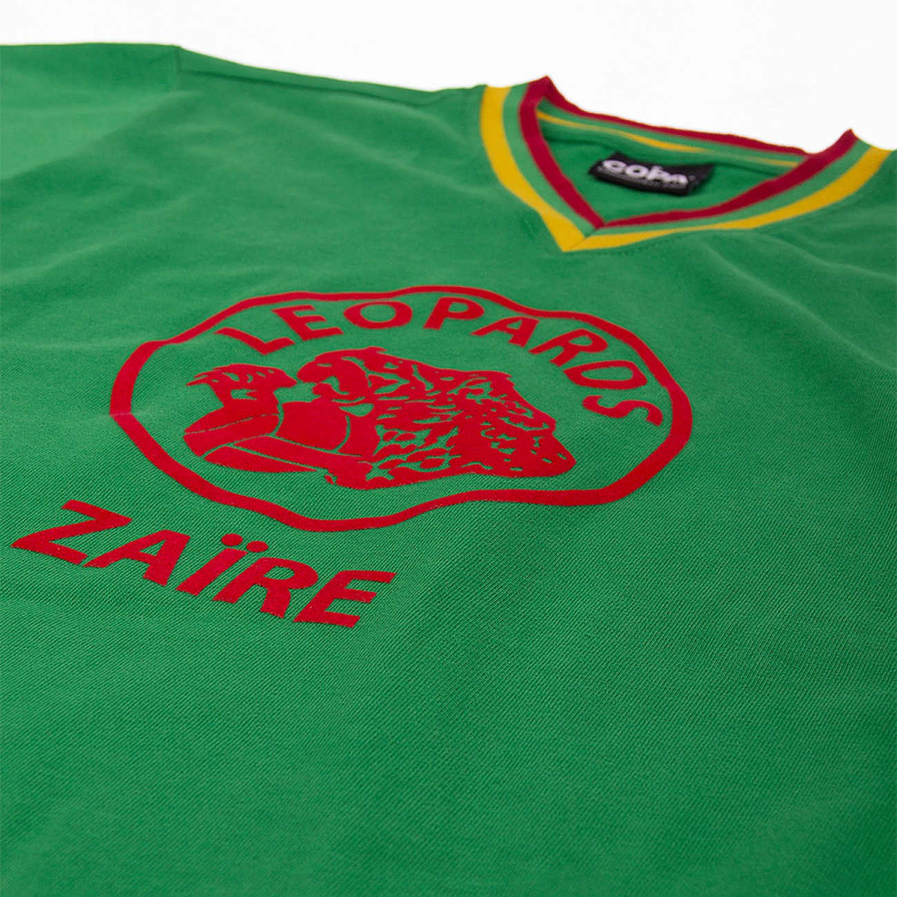 9cd32f981a3 Zaire Classic shirt 1974 WC qualifiers