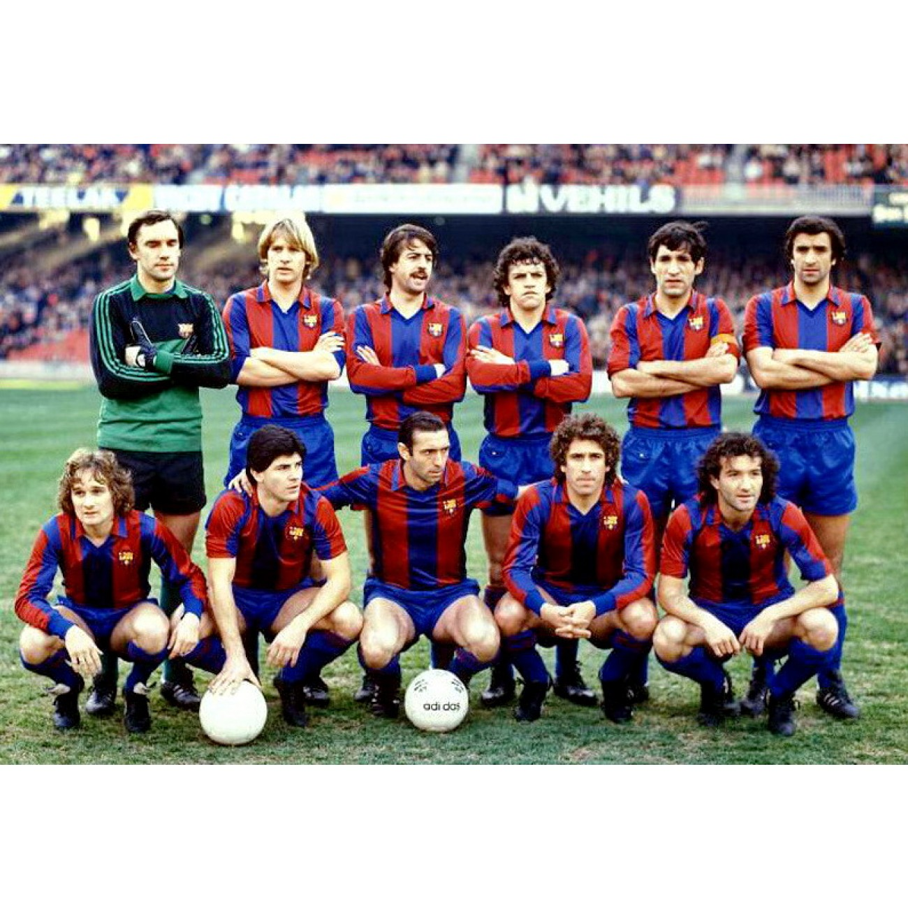 Fc Barcelona 1980 81 Retro Shirt Retrofootball
