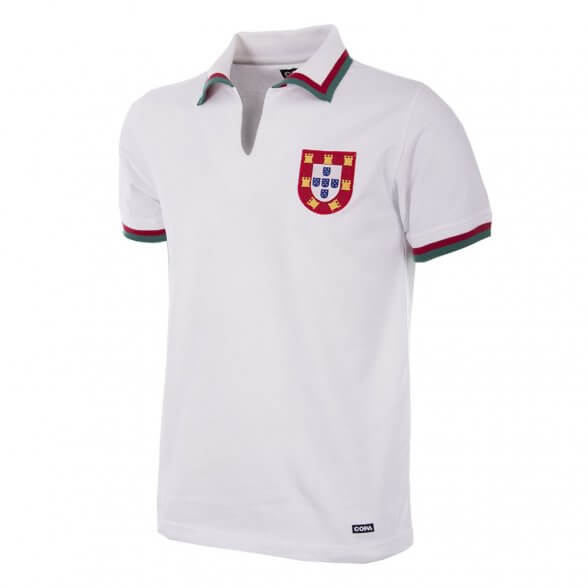 Portugal 1972 Retro Shirt | White