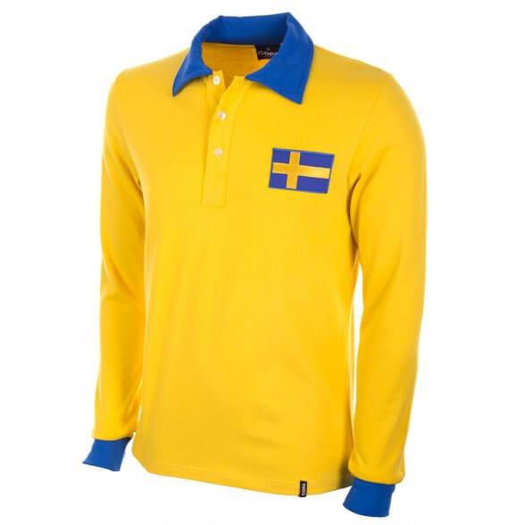 Sweden WC 1958 Classic football shirt