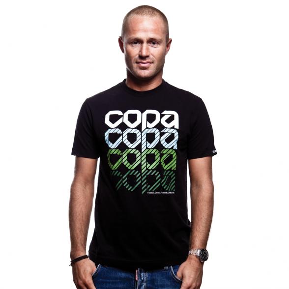 COPA International T-Shirt // Black 100% cotton