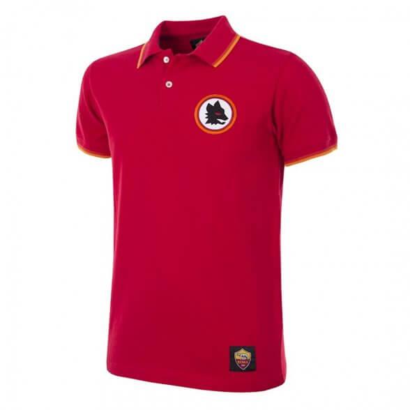 AS Roma Retro Polo Shirt