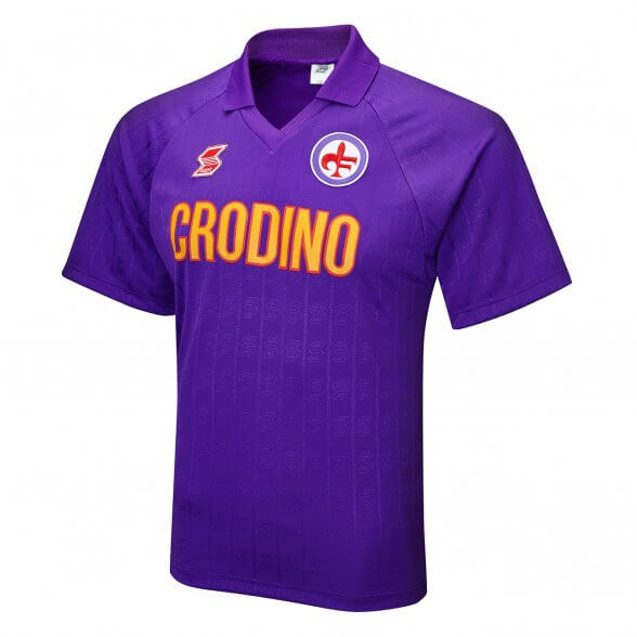 Fiorentina Retro shirt 1989-90