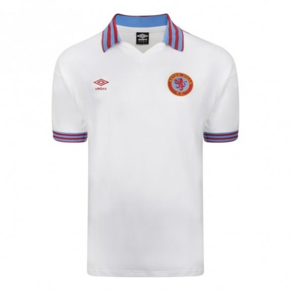 Aston Villa 1980 Away vintage football shirt
