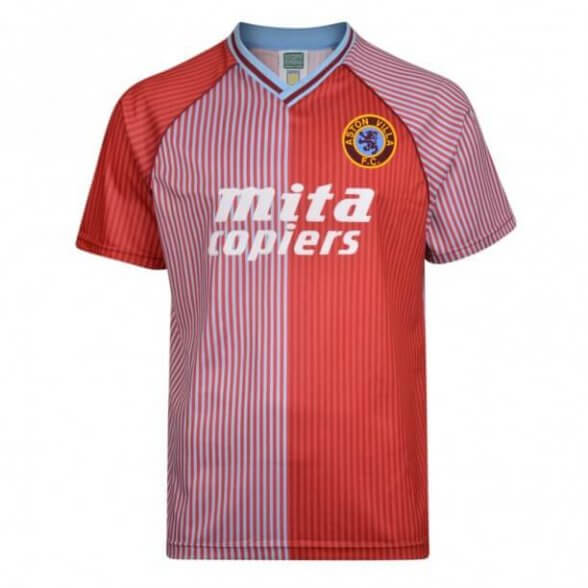 Aston Villa 1987-88 vintage football shirt