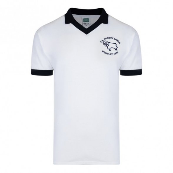 Derby County Retro Shirt 1975