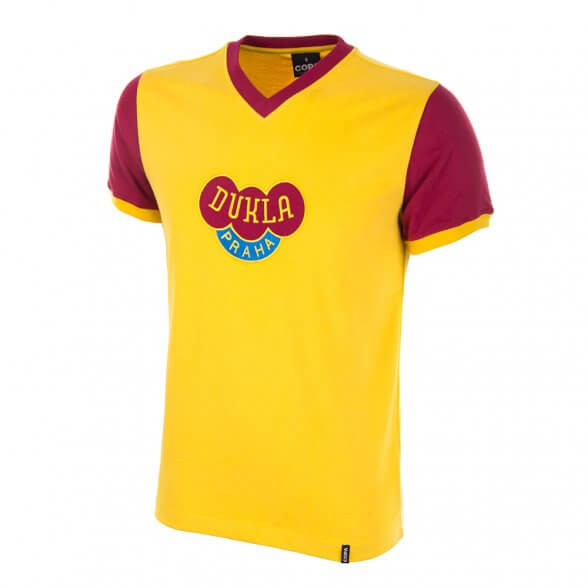 Dukla Prague yellow Retro Shirt