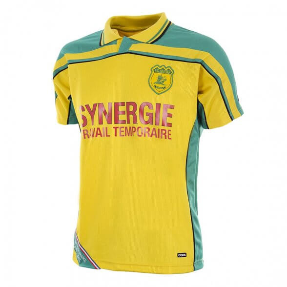 FC Nantes 2000-01 vintage football shirt