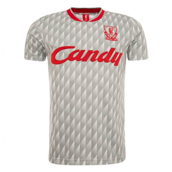 Liverpool FC Retro Shirt 1989-90 | Grey