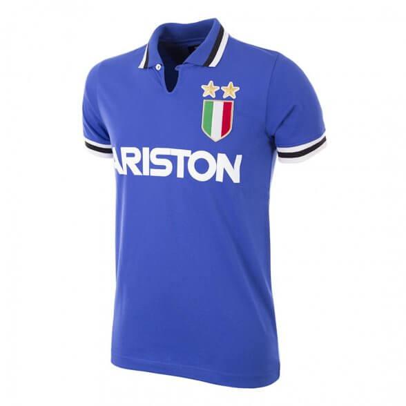 Juventus away 1983 vintage football shirt