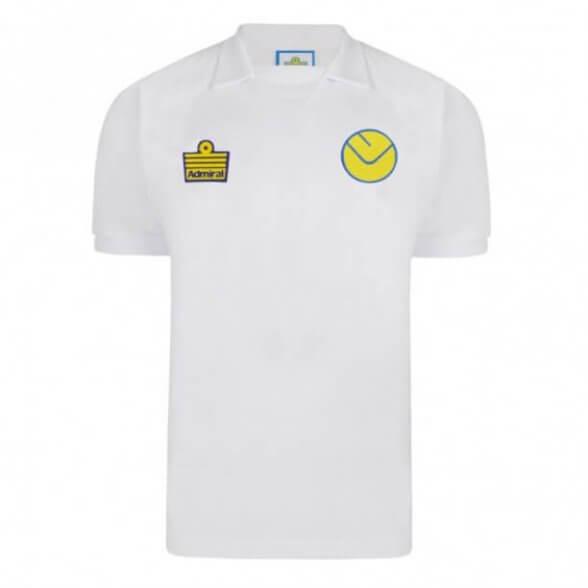 Leeds United 1973/74 Admiral Retro Shirt