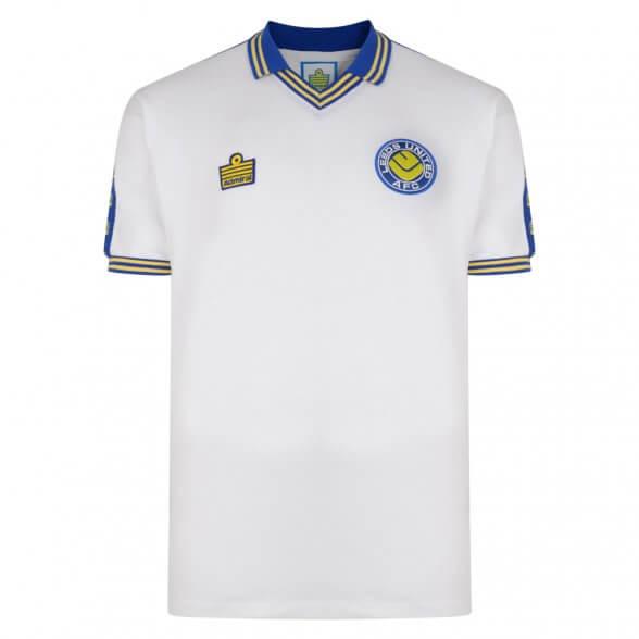 Leeds United 1978 Admiral Retro Shirt