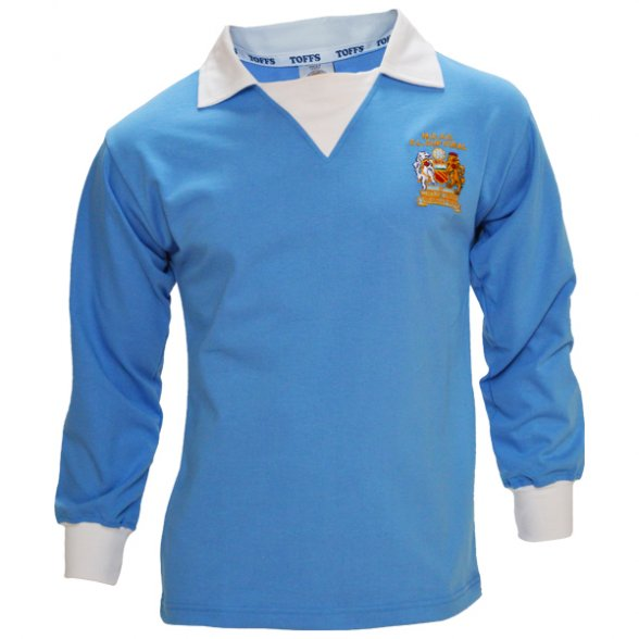 new product 2c1ab 2ed75 Retro shirt Manchester City FC | Retrofootball®