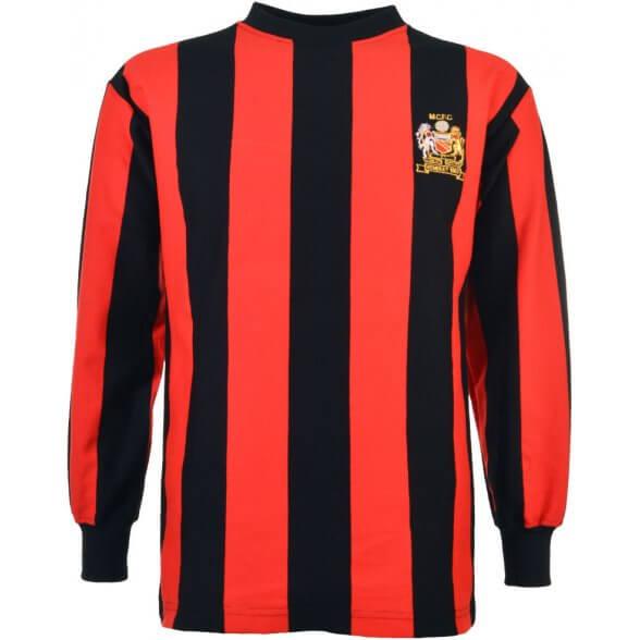 Manchester City Football Shirt 1969
