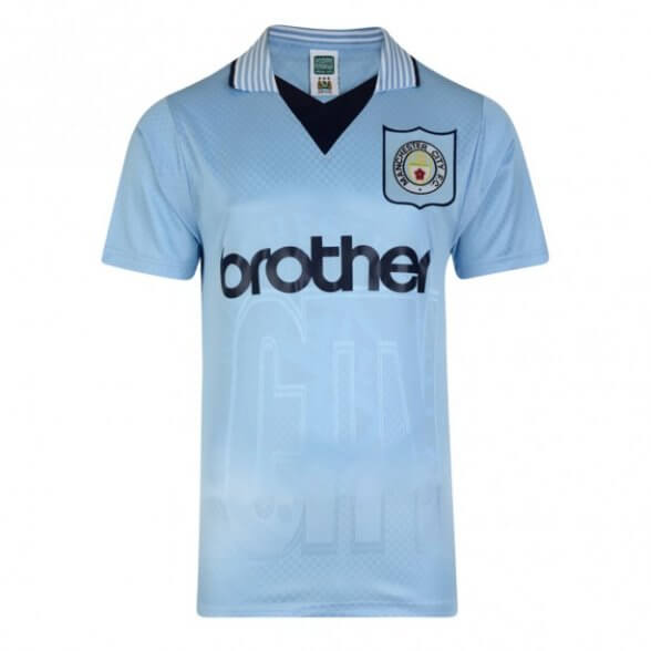 Manchester City Old Shirt 1996