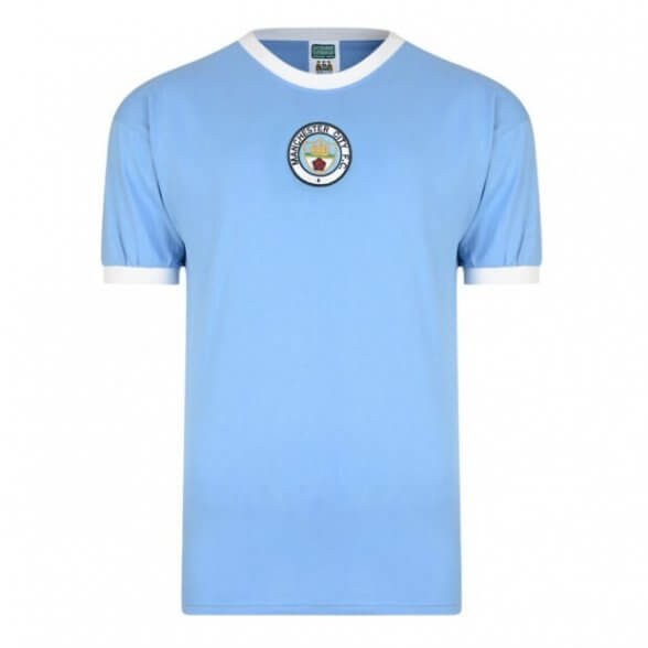 Manchester City 1972 vintage football shirt