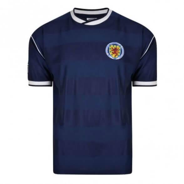 Scotland 1986 vintage football shirt