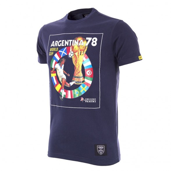 Panini Heritage Fifa World Cup 1978 T-shirt