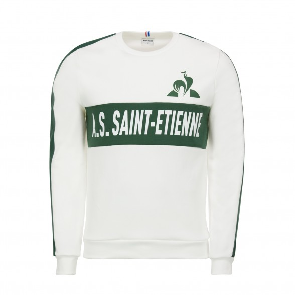 ASSE WHITE SWEATSHIRT