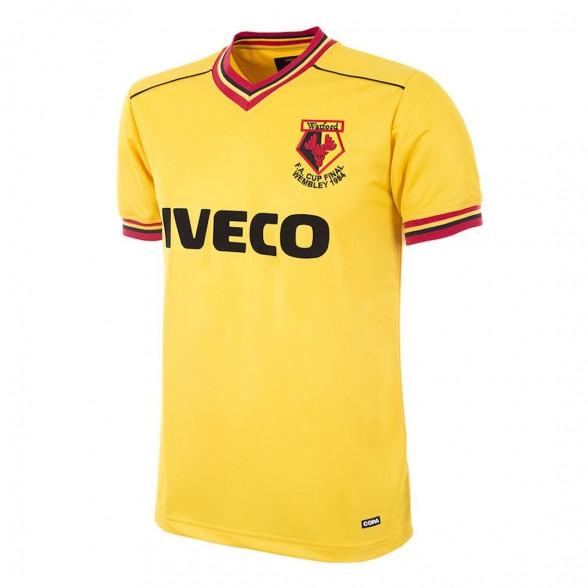 Watford FC 1983/84 retro shirt