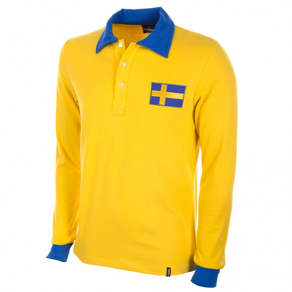 Sweden WC 1958 Classic football shirt