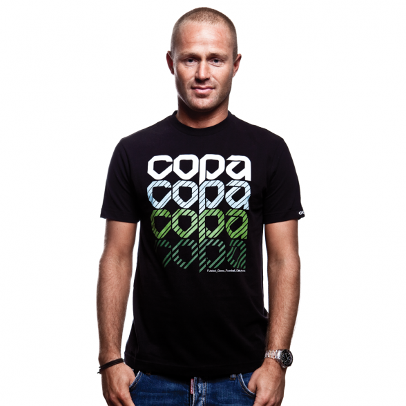 COPA International T-Shirt // Black 100% cotton
