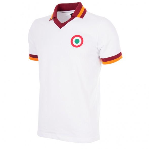 AS Roma Retro Polo Shirt 1980-81