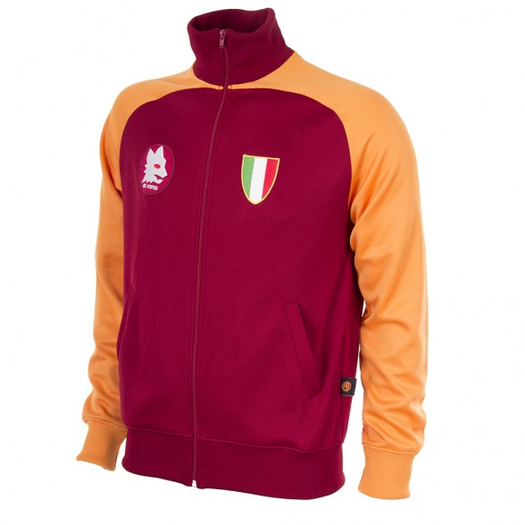 Official Retro jacket AS Roma 1983   Retrofootball® 95d8c6d933