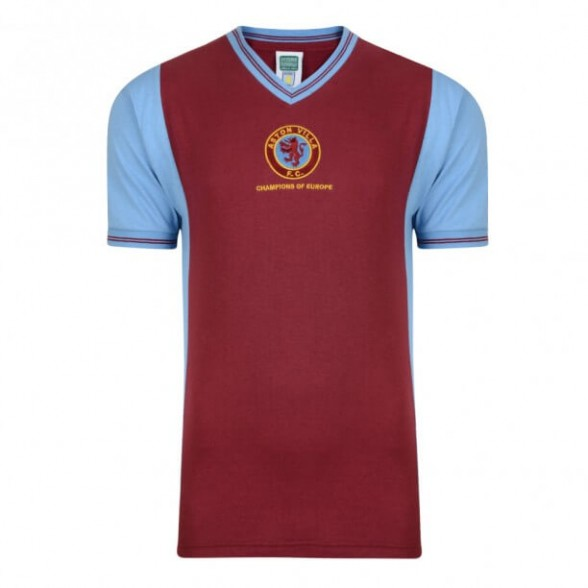 Aston Villa 1982 Champions of Europe vintage football shirt