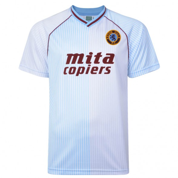 Aston Villa 1988 Away vintage football shirt