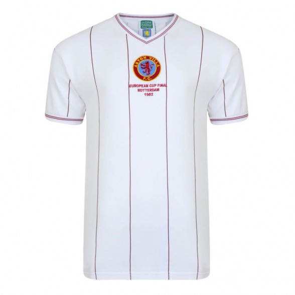 Aston Villa 1982 European Cup Final vintage football shirt