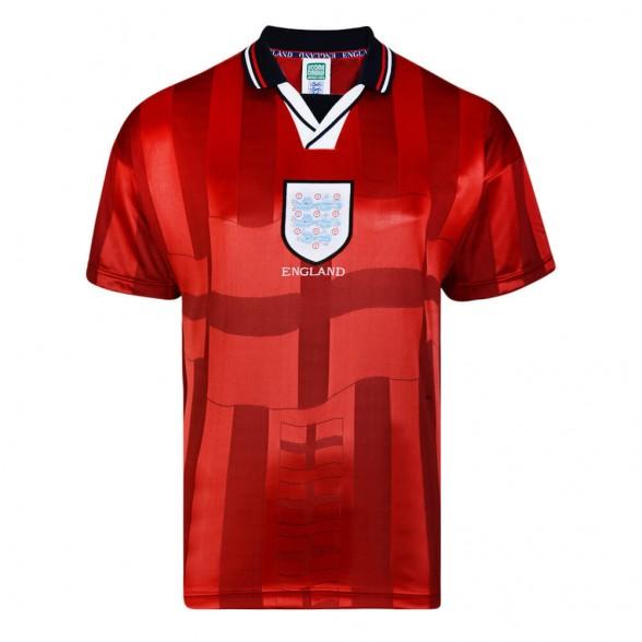 England 1998 Away vintage football shirt