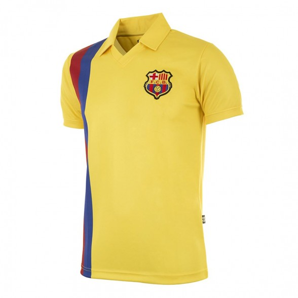 FC Barcelona 1981-82 Away vintage football shirt