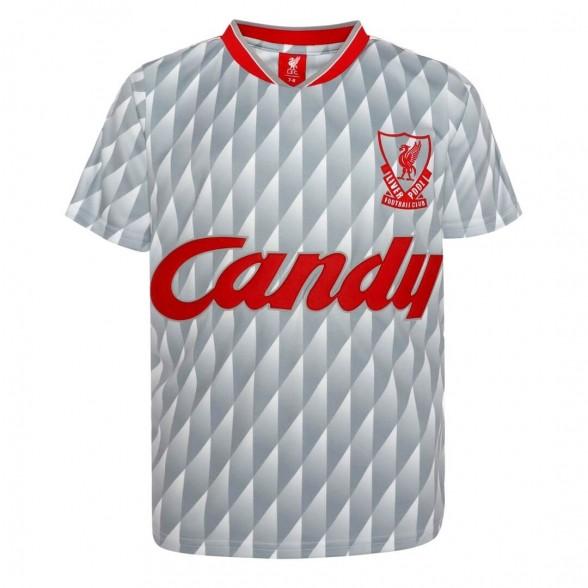Liverpool FC 1989-90 Away vintage football shirt | Kid
