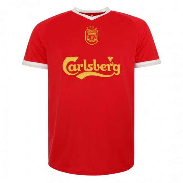 Liverpool FC 2001-03 vintage football shirt