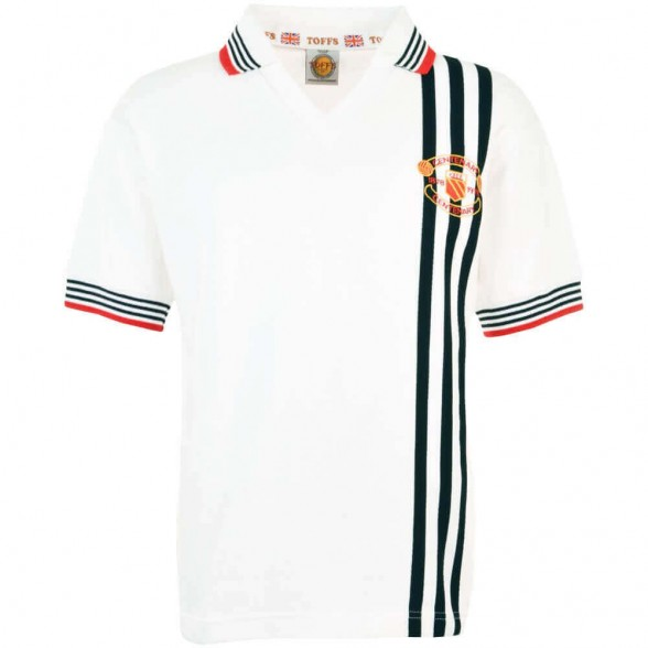 Manchester United 1978 Centenary Away vintage football shirt