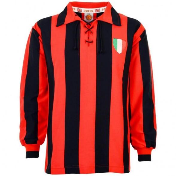 Milan 1950 vintage football shirt