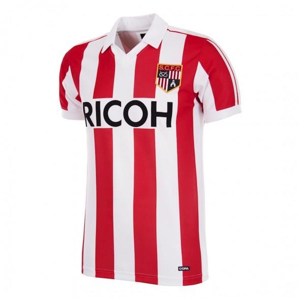Stoke City FC 1981-83 vintage football shirt