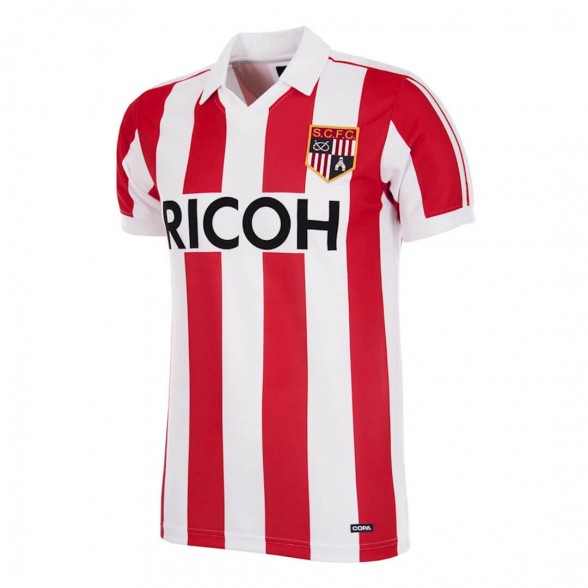Stoke City FC 1981-83 vintage football shirt