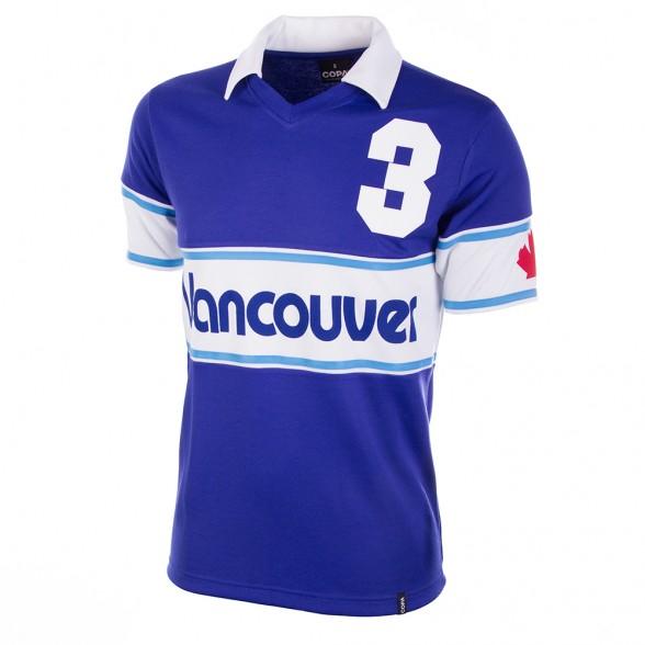 Vancouver Whitecaps 1980 retro shirt