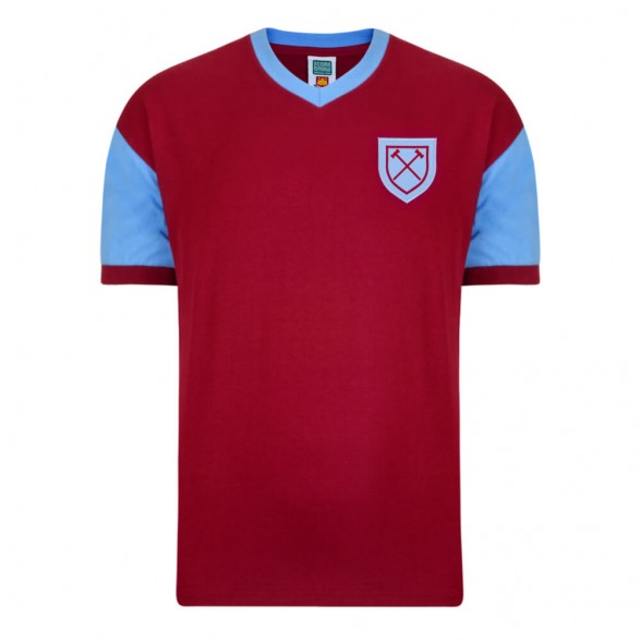 West Ham 1958 vintage football shirt