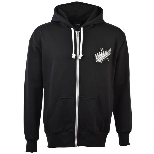New Zealand 1924 Vintage Rugby Zipped Hoodie