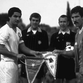 AS Roma 1984 vintage football shirt