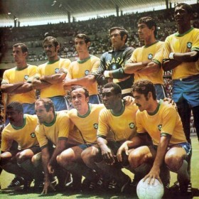 Vintage shirt Brazil World Cup 1970