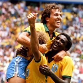 Brazil 1986 Retro Shirt