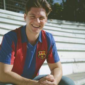FC Barcelona 1990-91 retro shirt