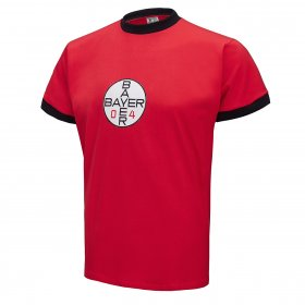 Bayer Leverkusen 1970s Retro Shirt